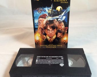 Harry Potter and the Sorcerer's Stone - Year One - VHS Tape