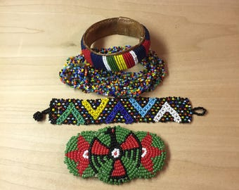 Native American Style Seed Bead Collection