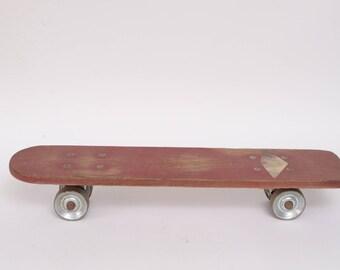 Vita Pakt Super Surfer Skateboard, Wooden w/ Metal Wheels, Made in California