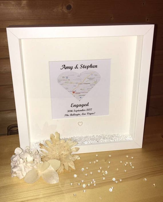 like this item - Engagement Photo Frame