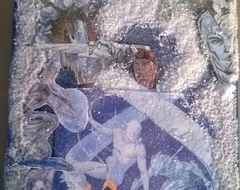 X-MEN ICEMAN 3-D PORTRAIT