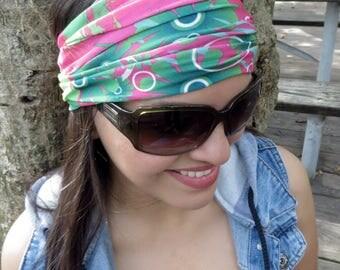 Wide Headband, Running Headband, Yoga Headband, Fitness Headband, Women Hippie Headband, Bohemian Turban, Wide Head Wrap ,Boho Wide Headband