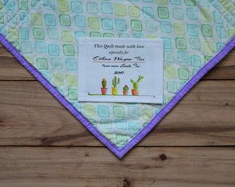 Quilt Labels   Blanket Labels   Custom Fabric Labels   Personalized Sewing Labels   Personalized Quilt Labels   Cut-Out Labels   Stats Label