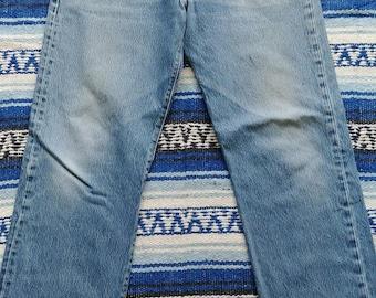 Vintage Levis 501 XX Jeans - Measured 33/34x31 - Super cool grunge 501s