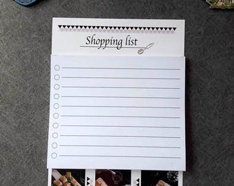 Shopping list  ,,Baklava'' with magnet