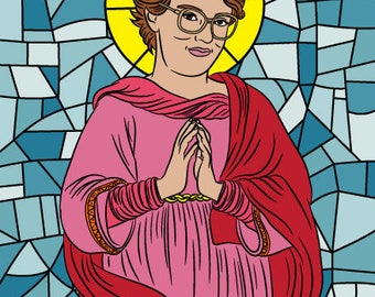 BARB STRANGER THINGS Prayer candle, soy wax candle, Saint Barb, we are all barb, barb stranger things candle, stranger things, be like barb