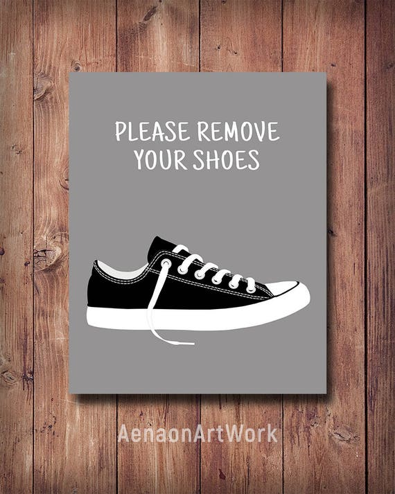 50 off please remove your shoes print entryway decor take for Home decor 50 off