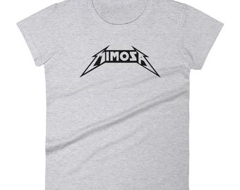 Mimosa x Metallica - Women's T-Shirt - Funny, Champagne, Drink, Orange Juice, Sparkling Wine