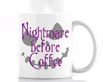 Nightmare Before Coffee Mug