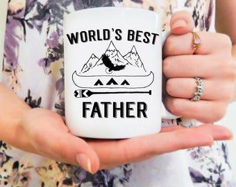 World's Best Father | Dad Mug, Mugs for Dad, Papa Mug, Father Mug, Daddy Mug, Dad Gifts, Dad Coffee Mug, Dad Coffee Mugs, Dad Cup, Dad Gift