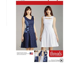 Simplicity Pattern 1103 - Misses' Dress with Bodice and Skirt Variations