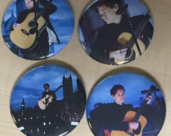 Harry Styles-London Rooftop-2.25 Pinback Button Set of 4