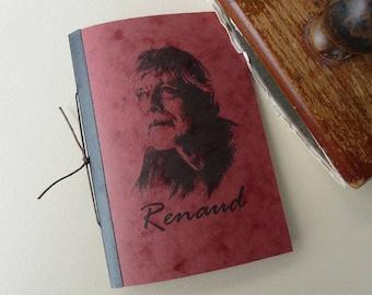 """Brick red journal, """"Renaud"""""""