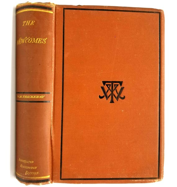 The Works of William Makepeace Thackeray in 12 Volumes: Vol III; The Newcomes Memoirs of a Most Respectable Family 1876