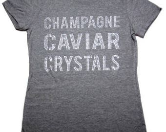 Champagne Caviar Crystals