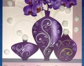 Orchids  Wall Decor 3D
