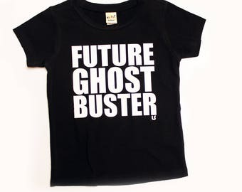 unisex future ghost buster tee, tattoo inspired clothes, ghostbusters, halloween shirts, toddler tshirt, trendy baby clothes, costumes