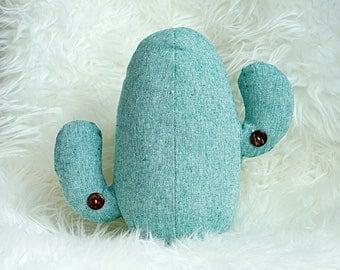 Cactus Pillow, Decorative Throw Pillow, Cacti Cushion, Housewarming Gift, Dorm Decor, Throw Pillows, Home Decor, Nursery Kids/Teen Room
