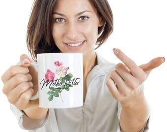 Mother Hustler Cup Motivational Coffee mug for Women Money Makers Gift