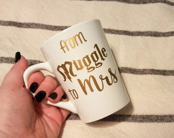 From Muggle To Mrs   Engagement Gift   Wedding Gift   Future Wife   Gifts for Her   Gift for Bride   Bride To Be