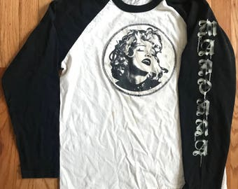 80's Vintage Madonna Lucky Stars Tour long sleeve shirt Promo Mens XL