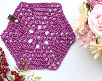 Ready To Ship, Crochet Coasters, Set Of 4 Coasters, Table Decoration, Home Decor