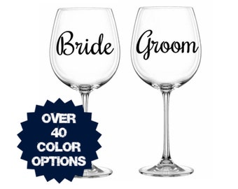 Wine Glass Decal Etsy - Custom car decals vancouver   how to personalize