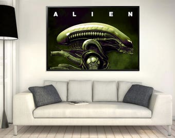 Xenomorph Poster - LARGE A0 (INSTANT DOWNLOAD)