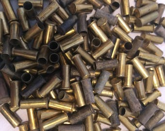 100 .22 used bullet casing, craft supplies, jewelry making supplies