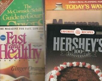 Brand Name Cookbooks Variety of Ten Paperbacks From the 60's thru 80's
