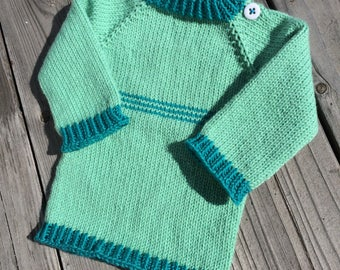 Stripe Detail 6 month size baby sweater