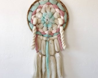 Vintage Dream Catcher / Navajo Dream Catcher /Navajo Mandala