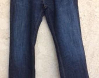 Men's 559 Levis Size 34 x 34, Vintage Levis, Levi Strauss, Denim Jeans, Blue Jeans, Dress Levis,  Levi 559, Bluewash Levis, Gifts for him