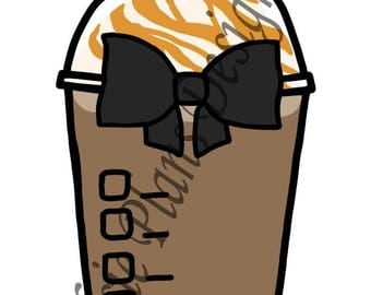 Frappuccino! with a Black Bow