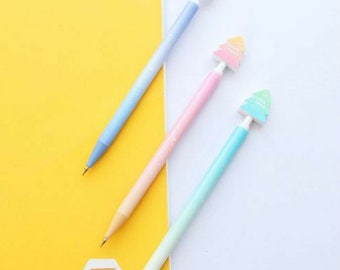 6 Pc ~ Sweet Starry Sky Mechanical Pencils ~ Kawaii Pencil, School Supplies, Planner Accessories, Pencils, Cute Stationery, Drawing Pencils