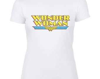 Wonder Woman Ladies Fitted T-Shirt