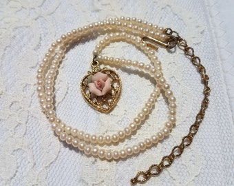 1928 gold necklace Etsy