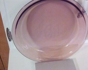 Vintage Pyrex Cranberry Pie Plate