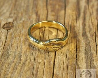 Roman Ring, Wedding Ring, Clasped Hands, Hands Ring, Ancient Ring, Magic Ring, Roman Design, Museum Copy, Antic, LARP, SCA, Reenactment