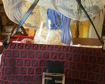 FENDI genuine red handbag
