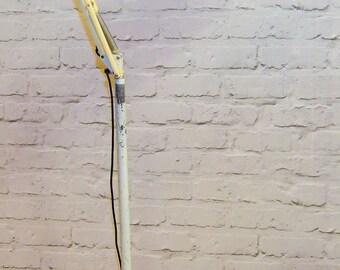 Herbert Terry floor trolley industrial vintage lamp retro antique light lighting mancave interior design mid century