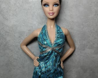 Laura - OOAK buzzcut, 1:6 scale, 12 inch Model Muse fashion doll
