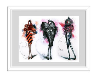 Kiquy's models - Alexander McQueen Fall 2009