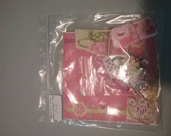 "Paperbag romantic album, ""girly"" Kit"