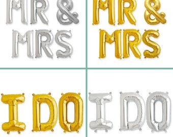 """Mr & Mrs + I Do Ballon Kit -16"""""""