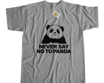 Never Say No To Panda Tshirt Panda Shirt Animal Lover Tshirt Panda Bear Shirt Bear Tshirt Save Animals Rescue Shirt Panda Tee