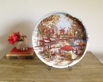 Paris Daher Decorated Ware Tray
