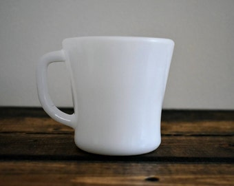 FEDERAL MILK GLASS Mug | Federal | 60's mug