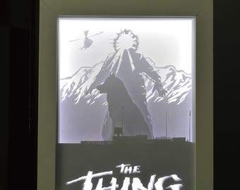 Handmade Light Box - The Thing