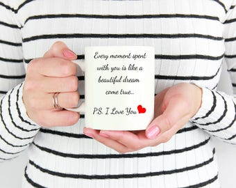 Romantic Theme Mug - Every Moment Spent With You …